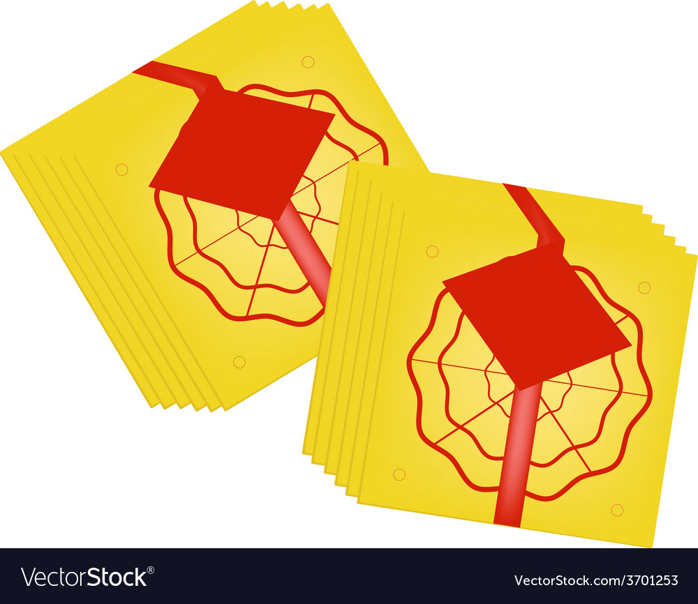 Golden joss paper for chinese new year vector | Price: 1 Credit (USD $1)