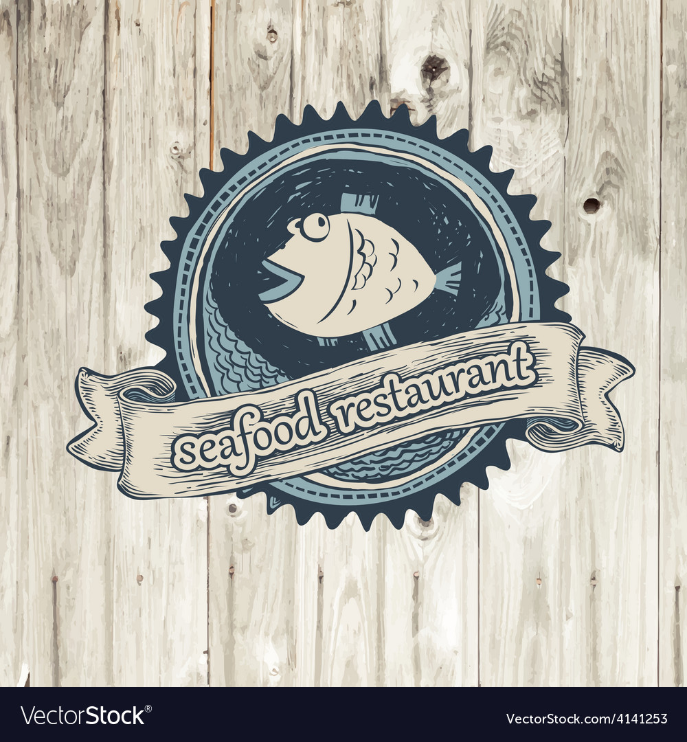 Seafood rest vector | Price: 1 Credit (USD $1)