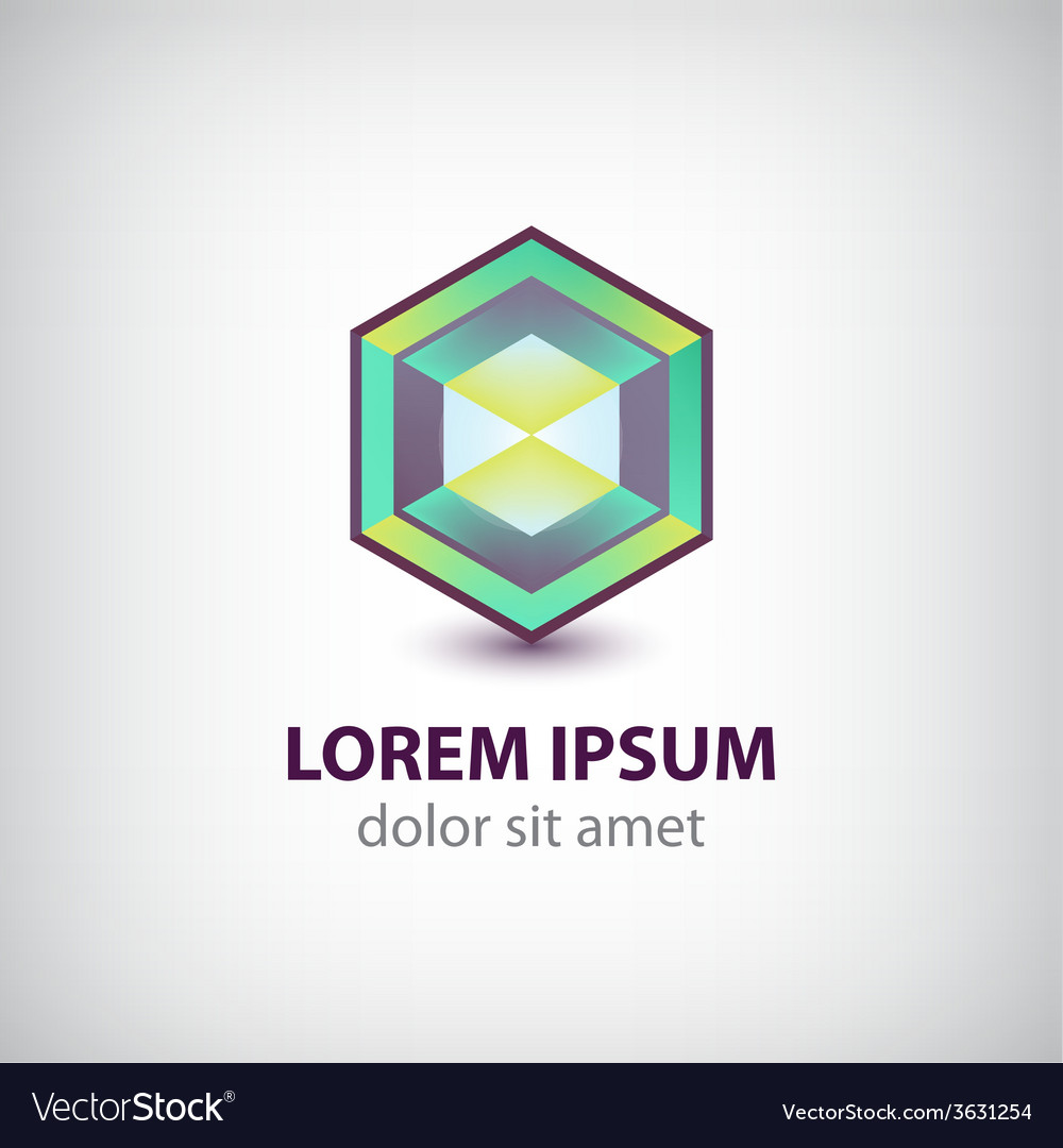 Abstract geometric modern futuristic logo vector | Price: 1 Credit (USD $1)