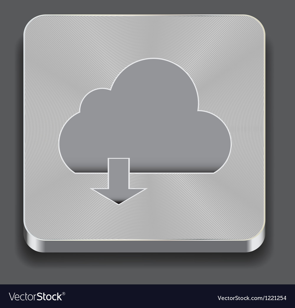 Cloud apps icon vector | Price: 1 Credit (USD $1)