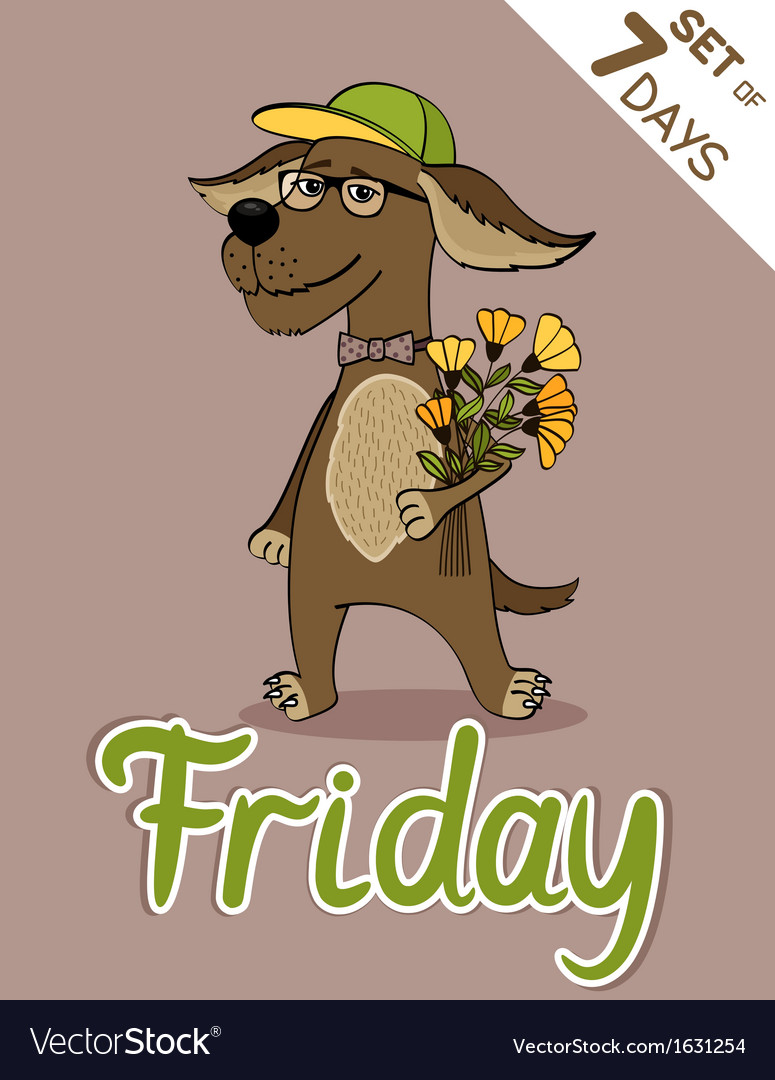 Friday vector | Price: 1 Credit (USD $1)