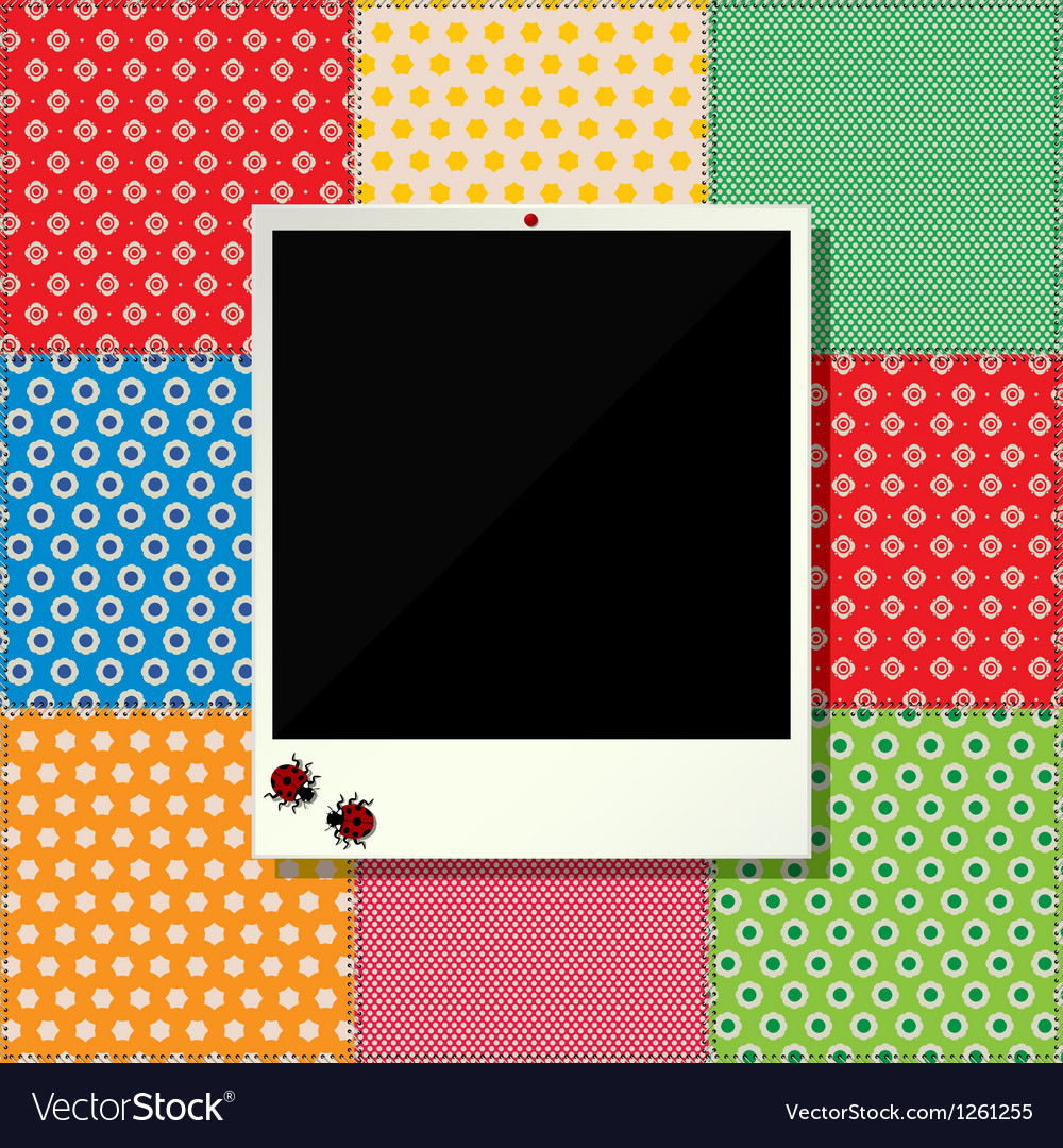 Digital scrapbooking photo frame vector | Price: 1 Credit (USD $1)