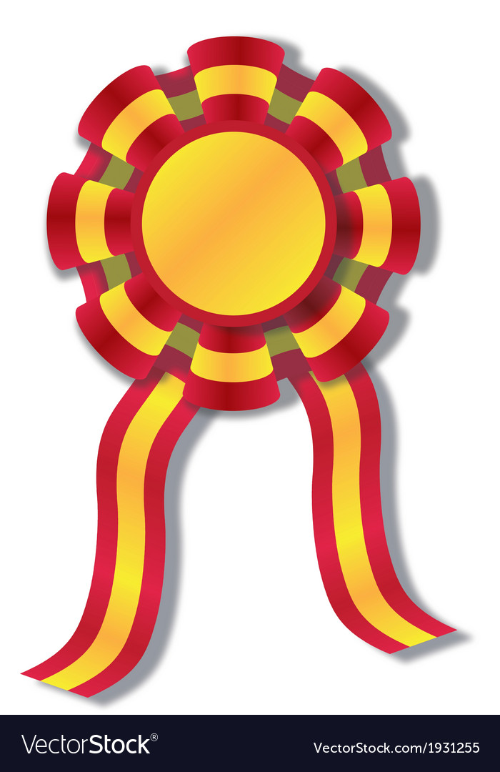 Spanish cockade vector | Price: 1 Credit (USD $1)