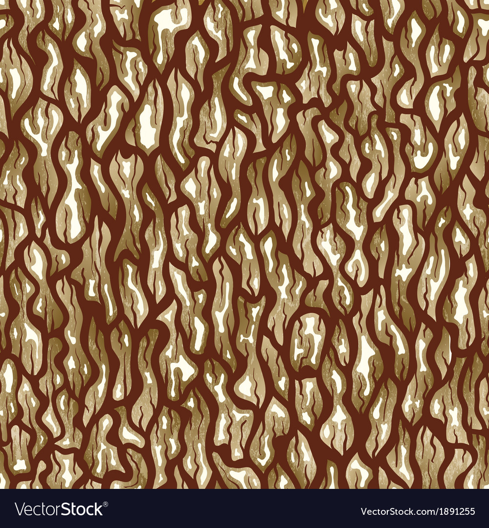 Tree bark texture seamless background vector | Price: 1 Credit (USD $1)