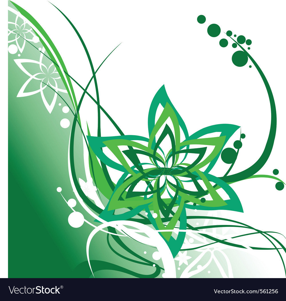 Floral swirl element vector   Price: 1 Credit (USD $1)