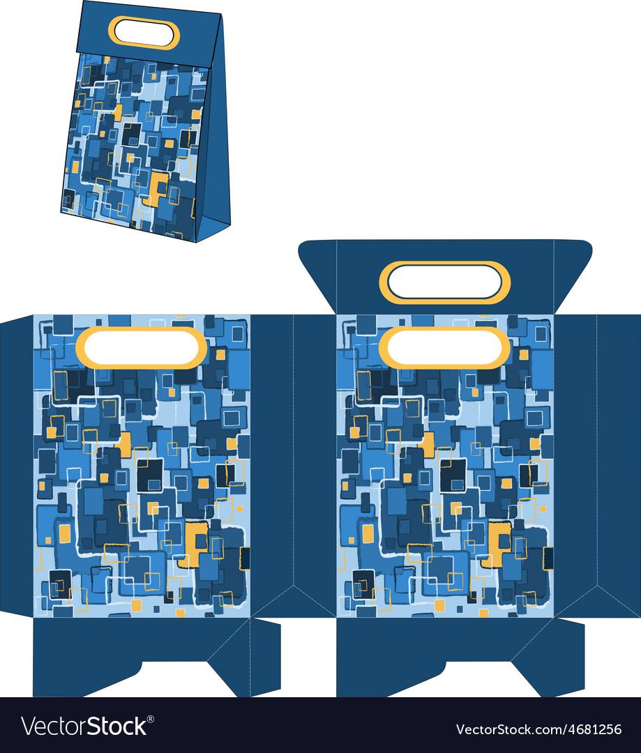Handbags packages pop art pattern vector   Price: 1 Credit (USD $1)