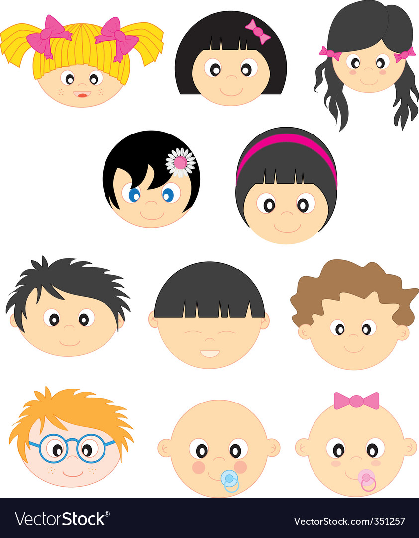Face vector | Price: 3 Credit (USD $3)