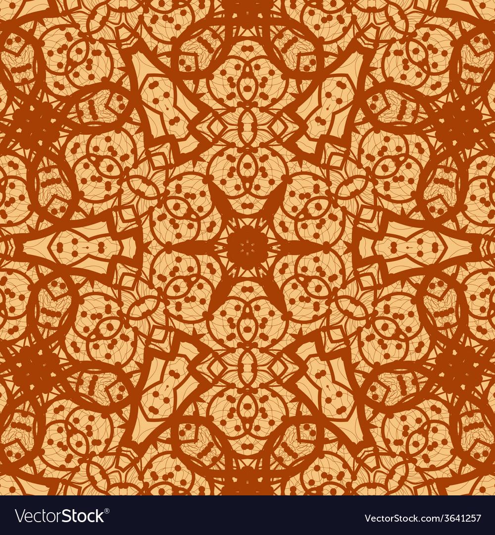 Seamless ornamental mandala background wallpaper vector | Price: 1 Credit (USD $1)