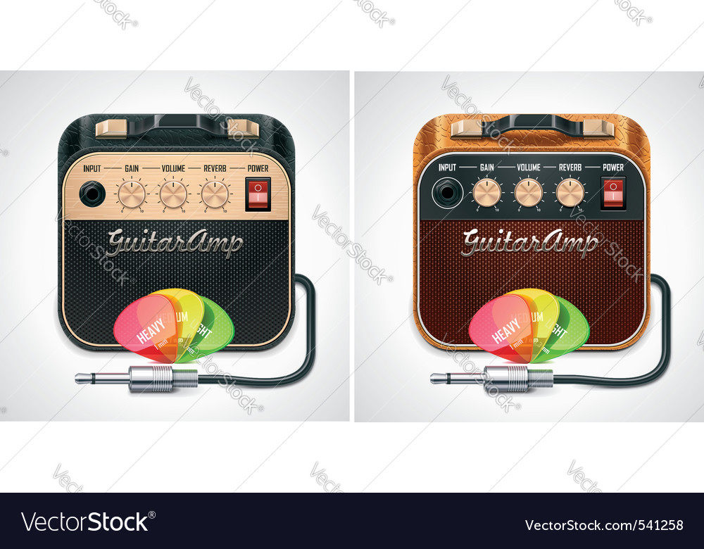 guitar amplifier icon vector | Price: 3 Credit (USD $3)