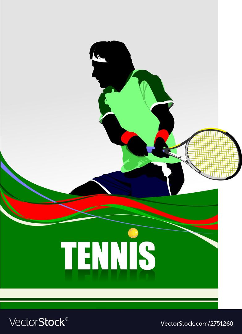 Al 0712 tennis 02 vector | Price: 1 Credit (USD $1)