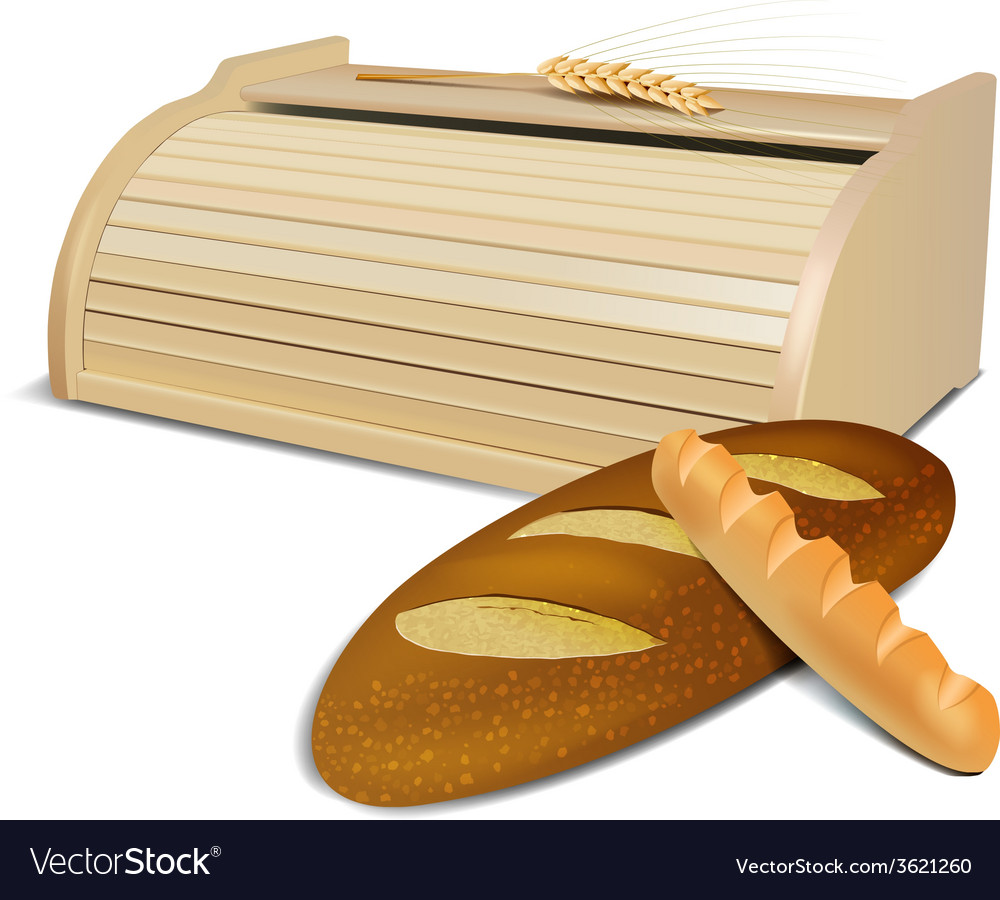 Bread container vector | Price: 1 Credit (USD $1)