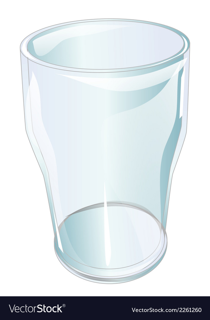 Pint glass vector | Price: 1 Credit (USD $1)