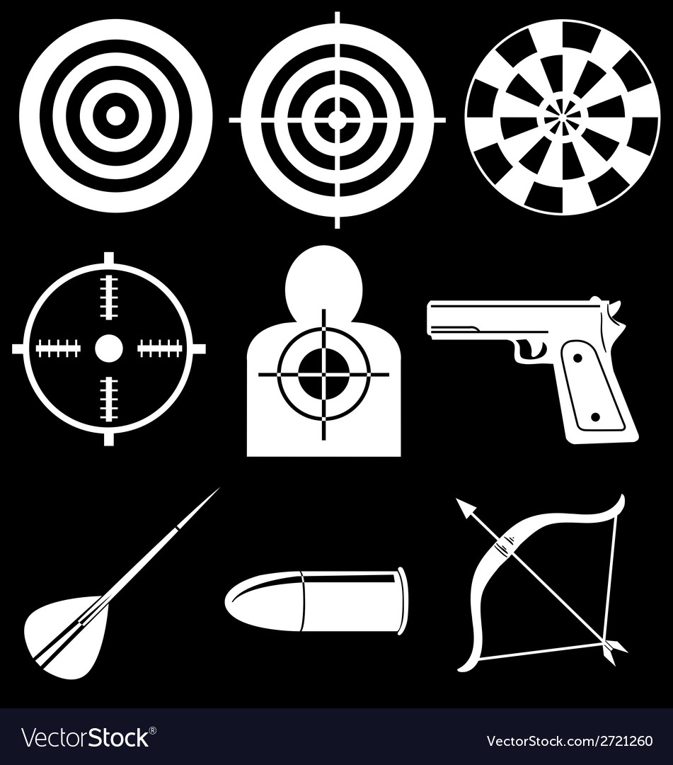 Shooting devices vector | Price: 1 Credit (USD $1)