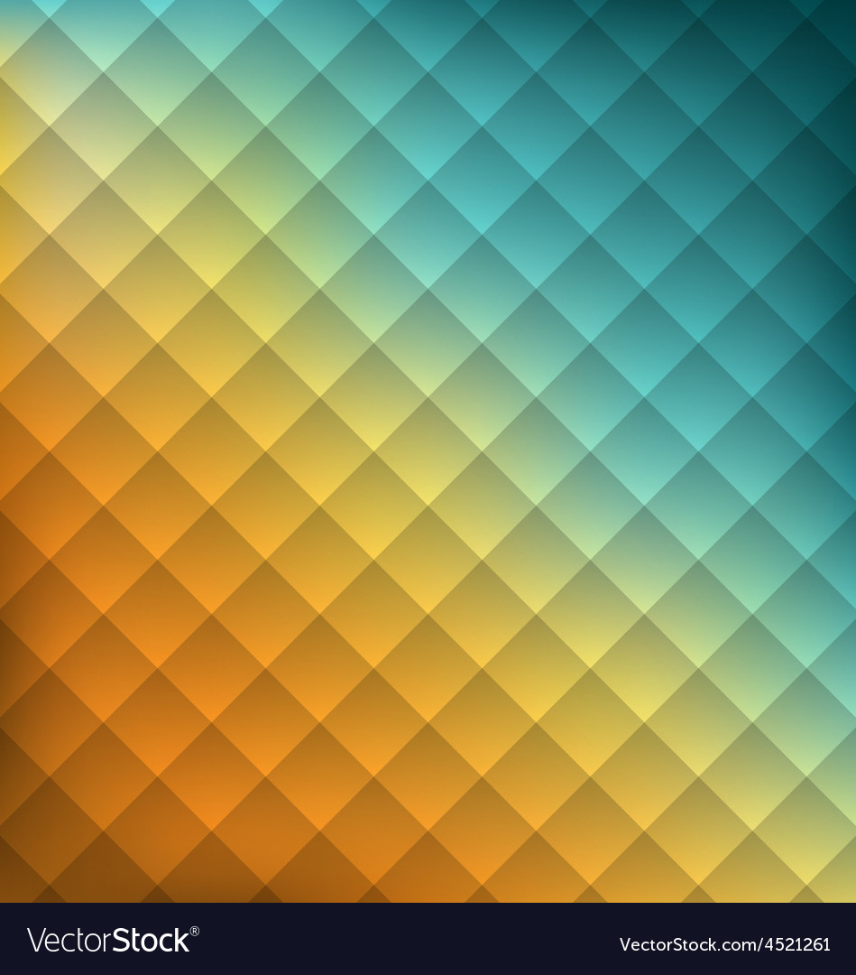 Geometrical abstraction background with squares vector | Price: 1 Credit (USD $1)