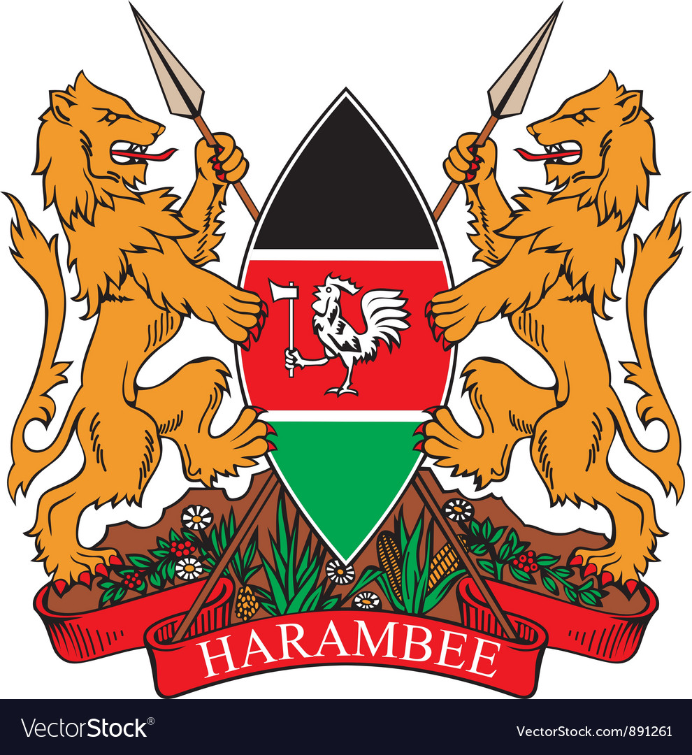 Kenya coat-of-arms vector   Price: 1 Credit (USD $1)