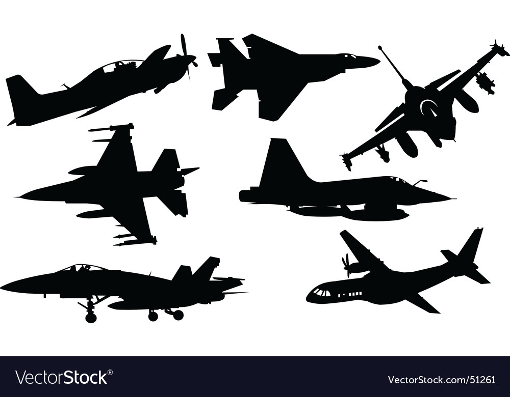 Plane collection vector | Price: 1 Credit (USD $1)
