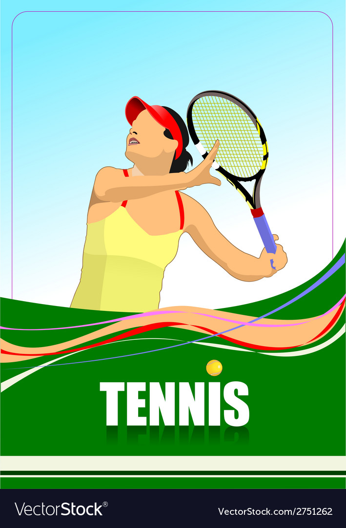 Al 0712 tennis 03 vector | Price: 1 Credit (USD $1)