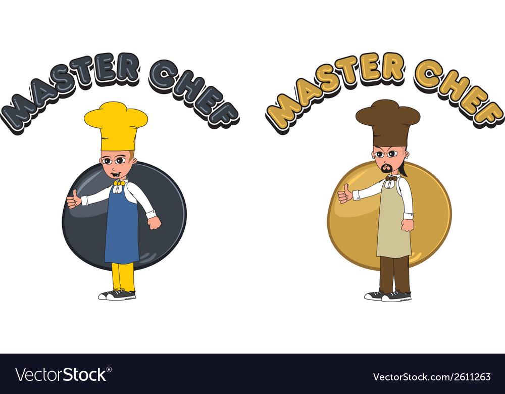 Cartoon chef vector   Price: 1 Credit (USD $1)