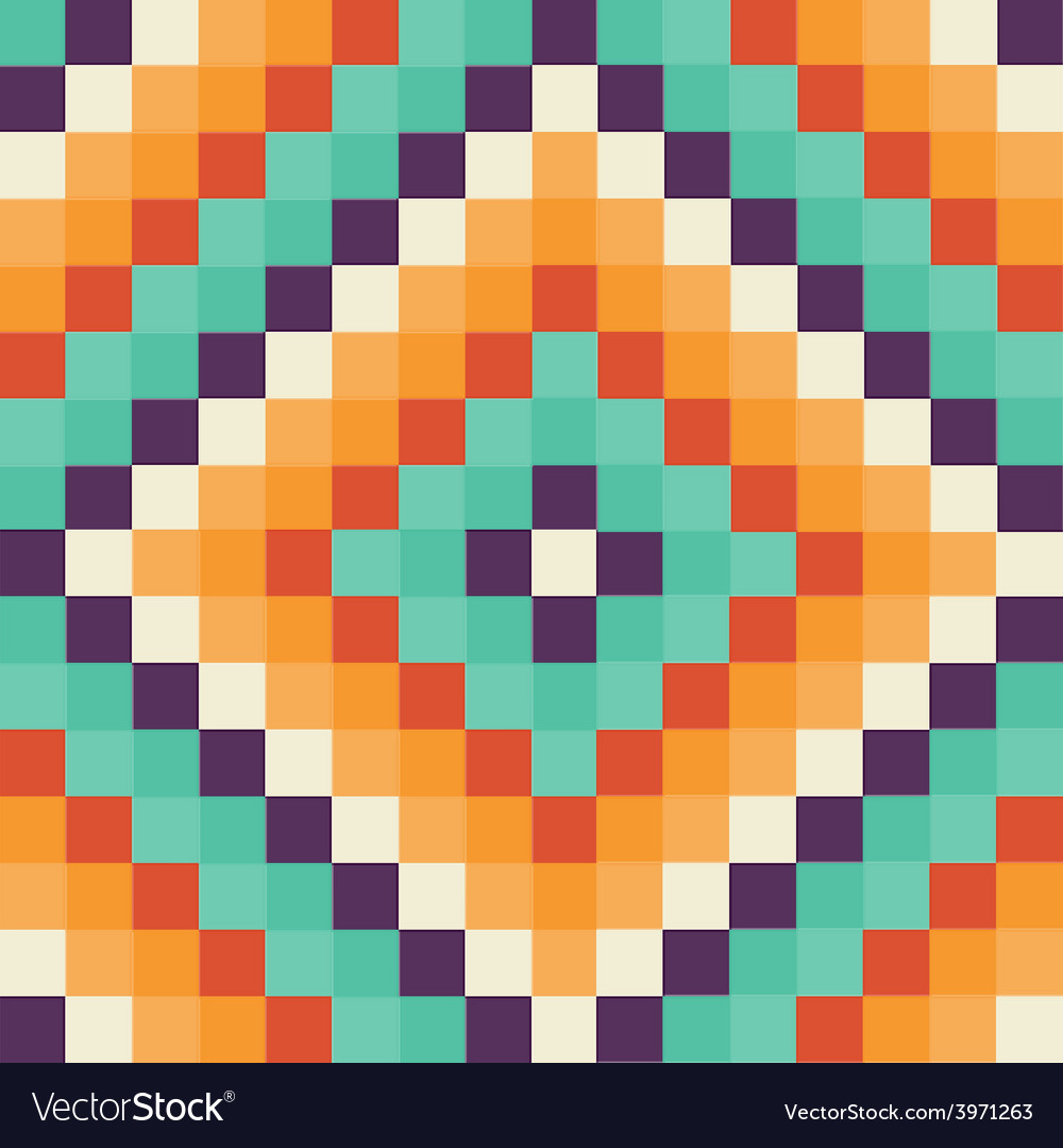 Mosaic pattern vector | Price: 1 Credit (USD $1)