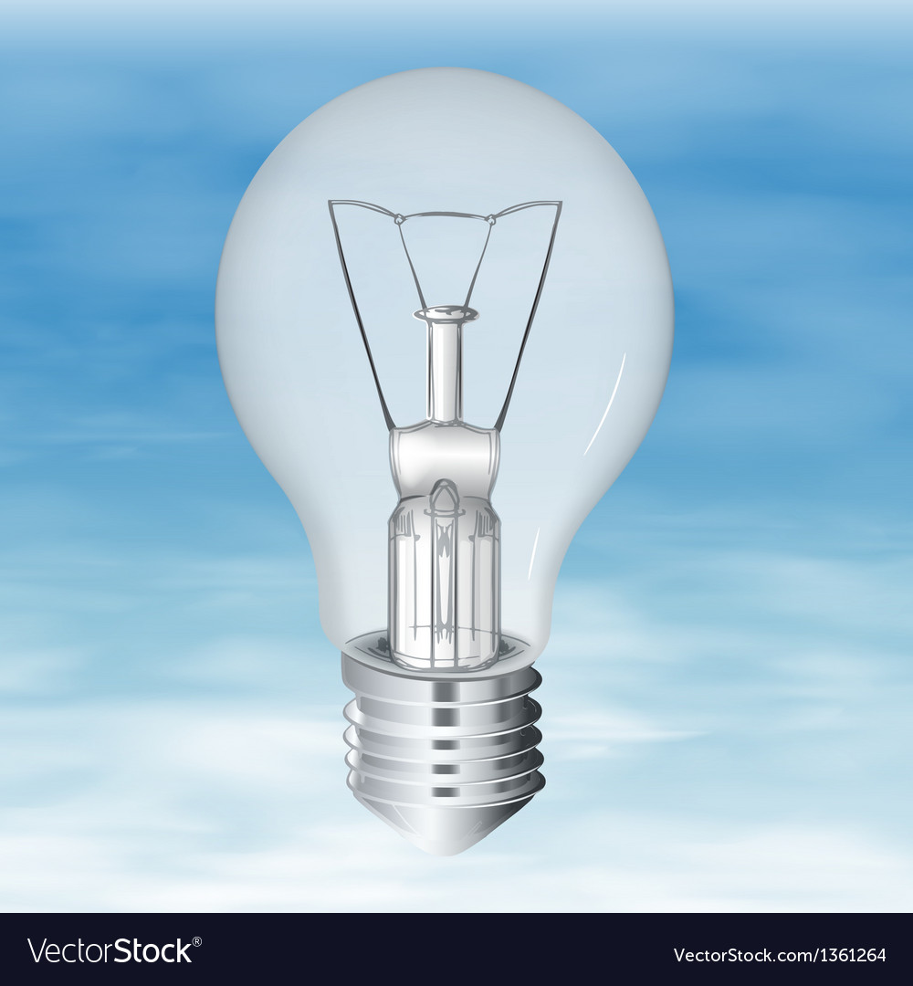 Electric bulb vector | Price: 1 Credit (USD $1)