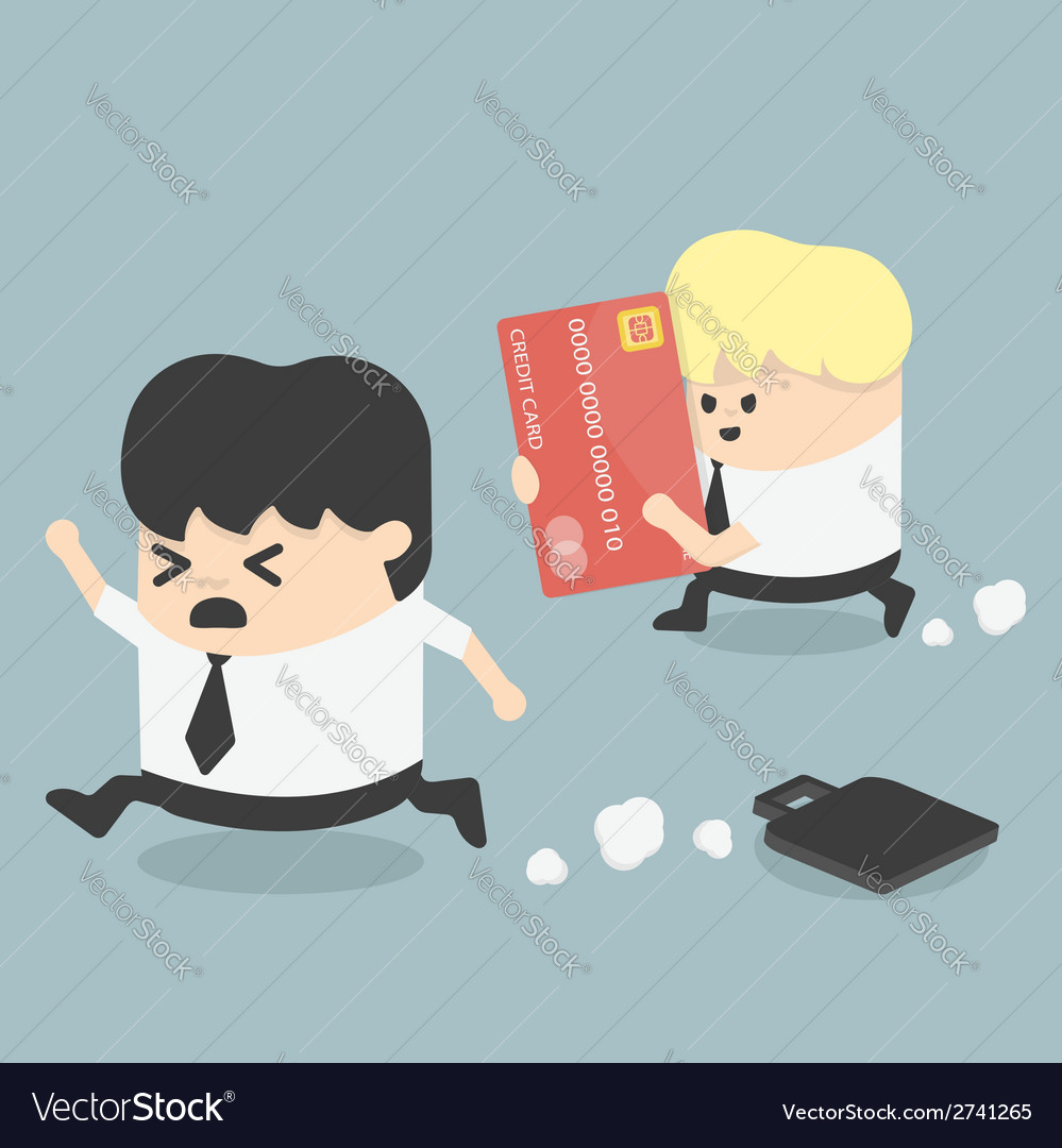 Credit card eps10 vector | Price: 1 Credit (USD $1)