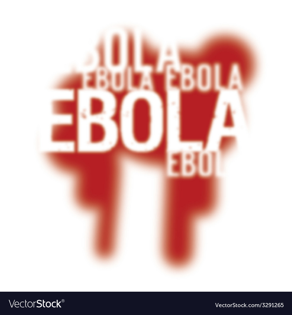 Ebola virus abstract background vector | Price: 1 Credit (USD $1)