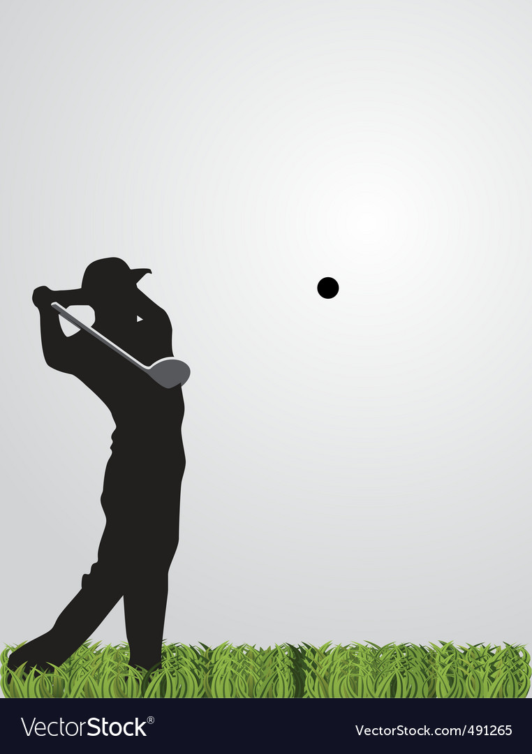 Golf background vector | Price: 1 Credit (USD $1)