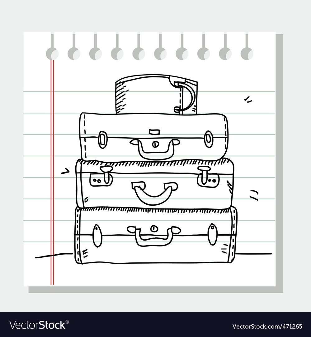 Travel sketch vector | Price: 1 Credit (USD $1)