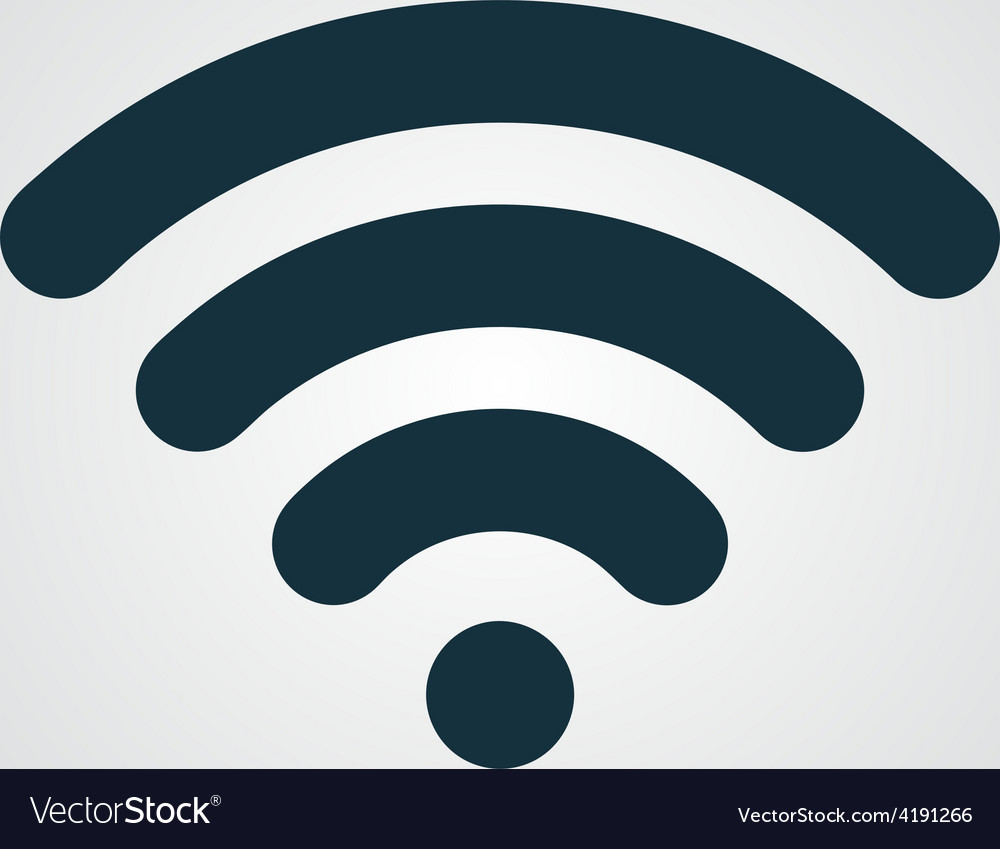 Free wi fi icon vector | Price: 1 Credit (USD $1)