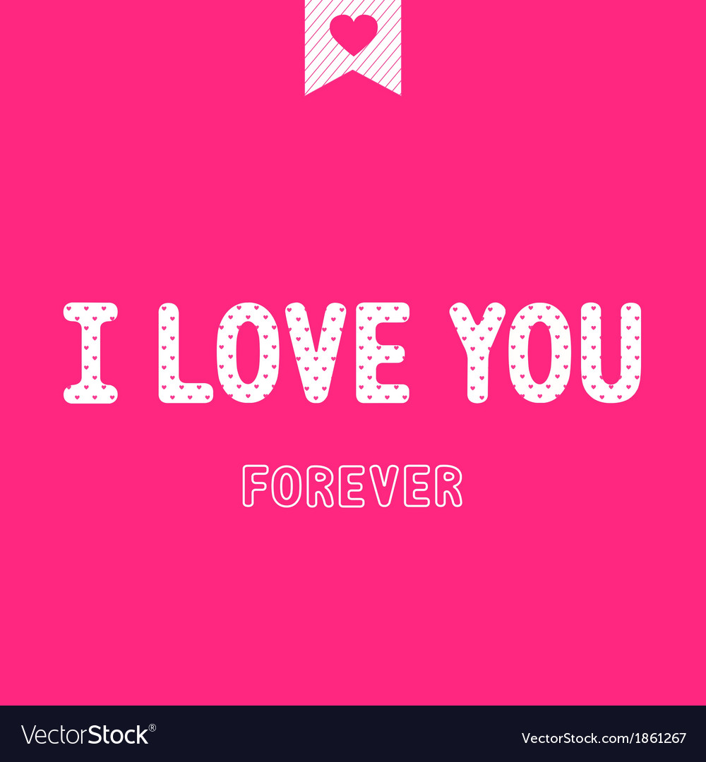 I love you4 vector | Price: 1 Credit (USD $1)
