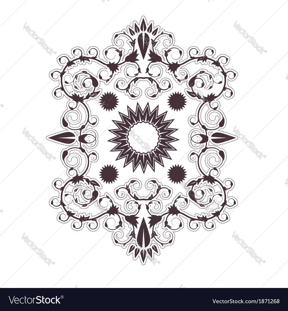 Baroque ornament vector | Price: 1 Credit (USD $1)