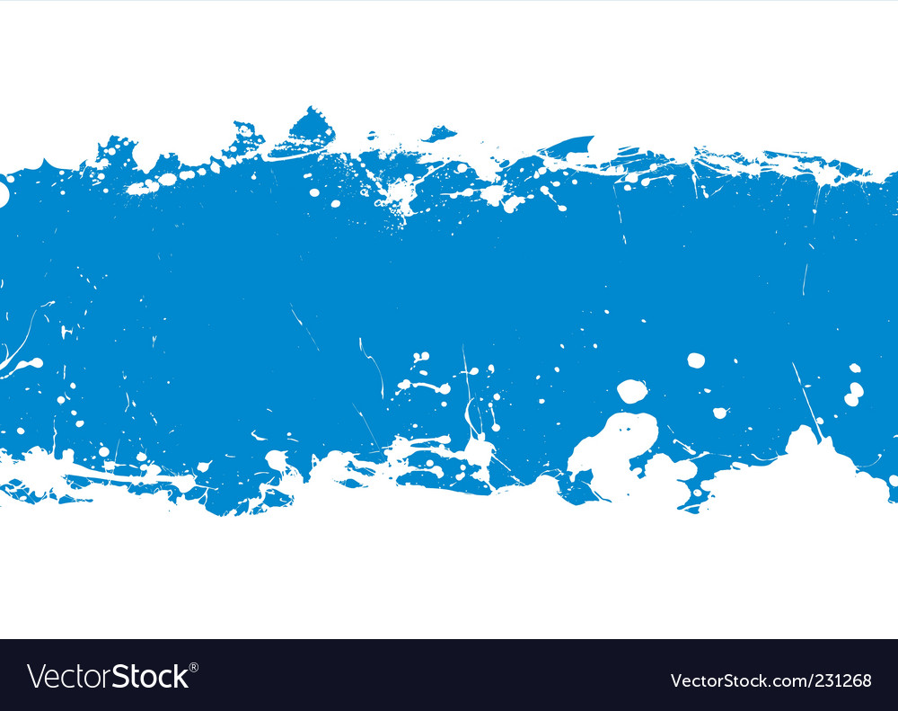 Ink splat banner vector | Price: 1 Credit (USD $1)