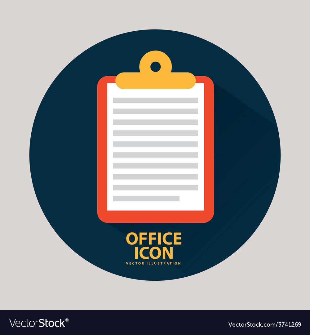 Office design vector | Price: 1 Credit (USD $1)