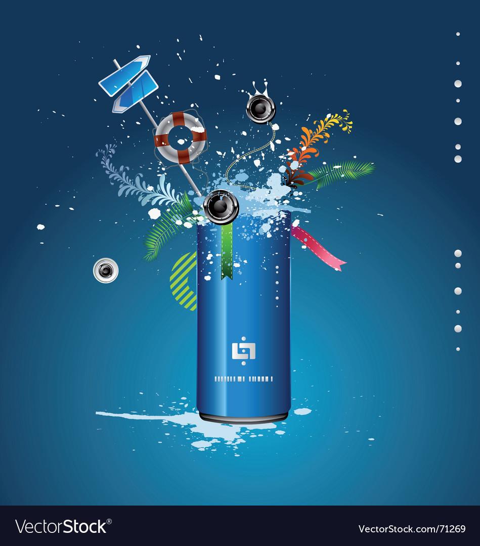 Spray can vector   Price: 3 Credit (USD $3)