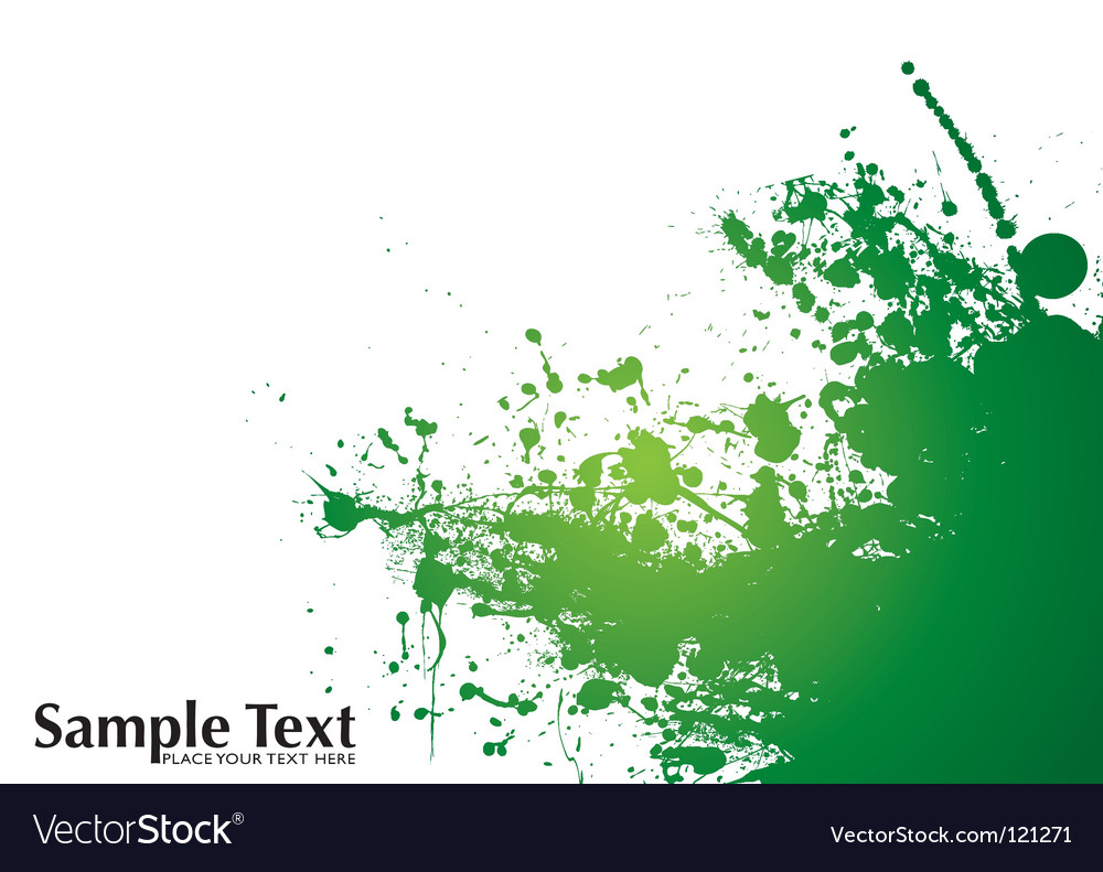 Grunge splat background vector | Price: 1 Credit (USD $1)