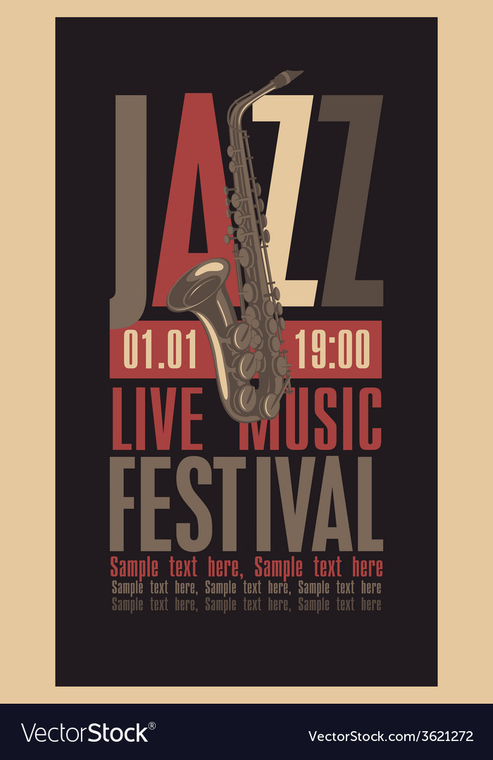 Jazzfest vector | Price: 1 Credit (USD $1)