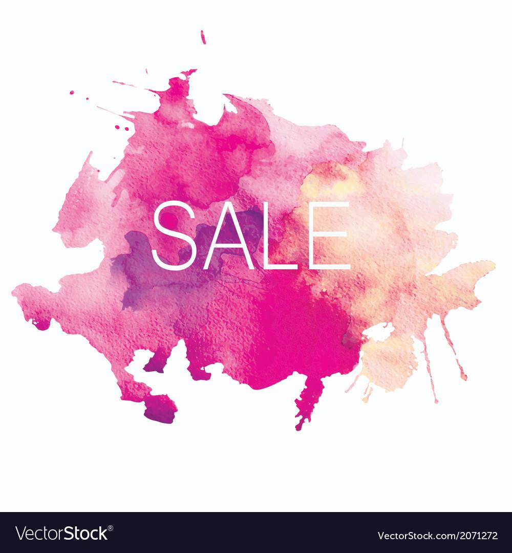 Sale spot vector | Price: 1 Credit (USD $1)