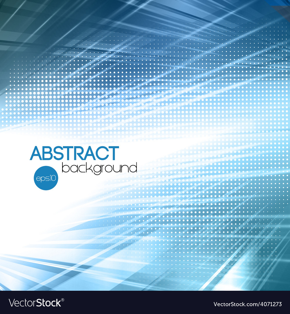 Abstract blue shiny template background vector | Price: 1 Credit (USD $1)