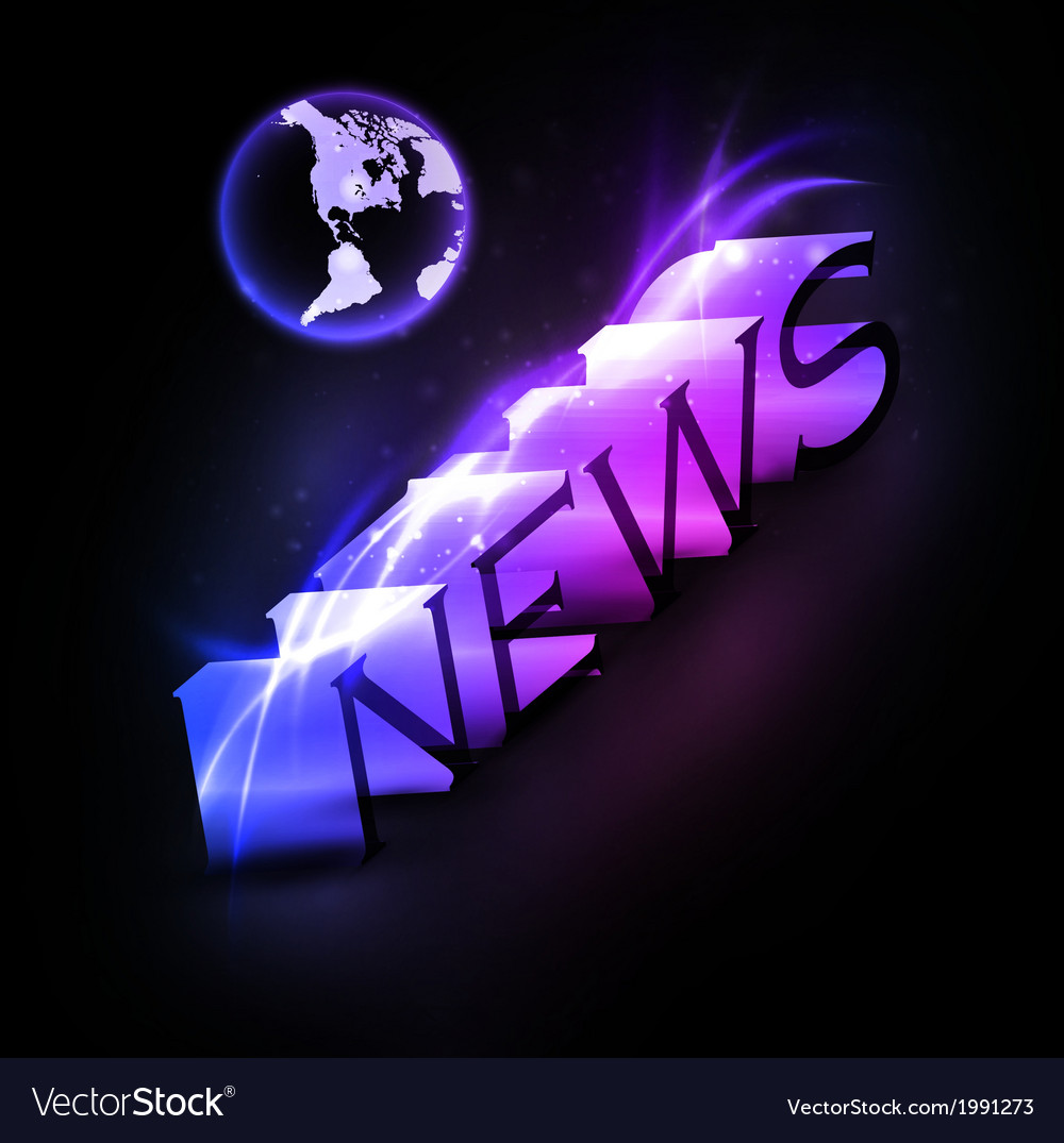 Colorful news vector | Price: 1 Credit (USD $1)