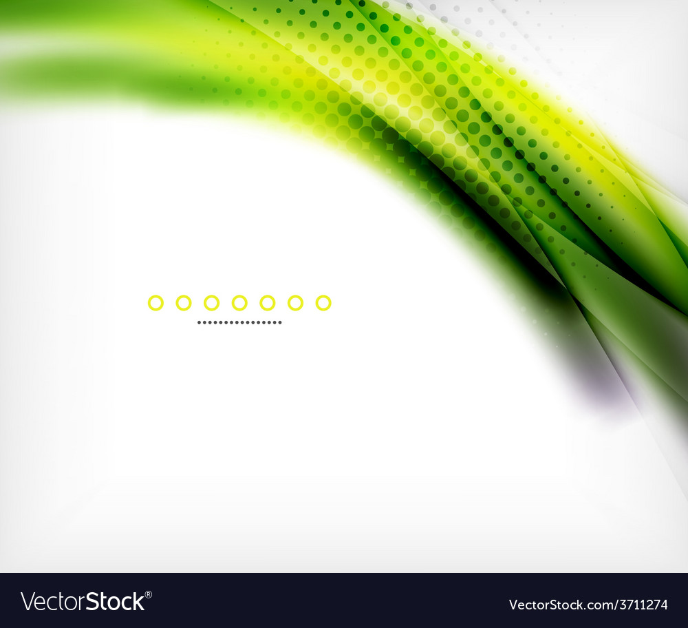 Abstract background green wave business template vector | Price: 1 Credit (USD $1)