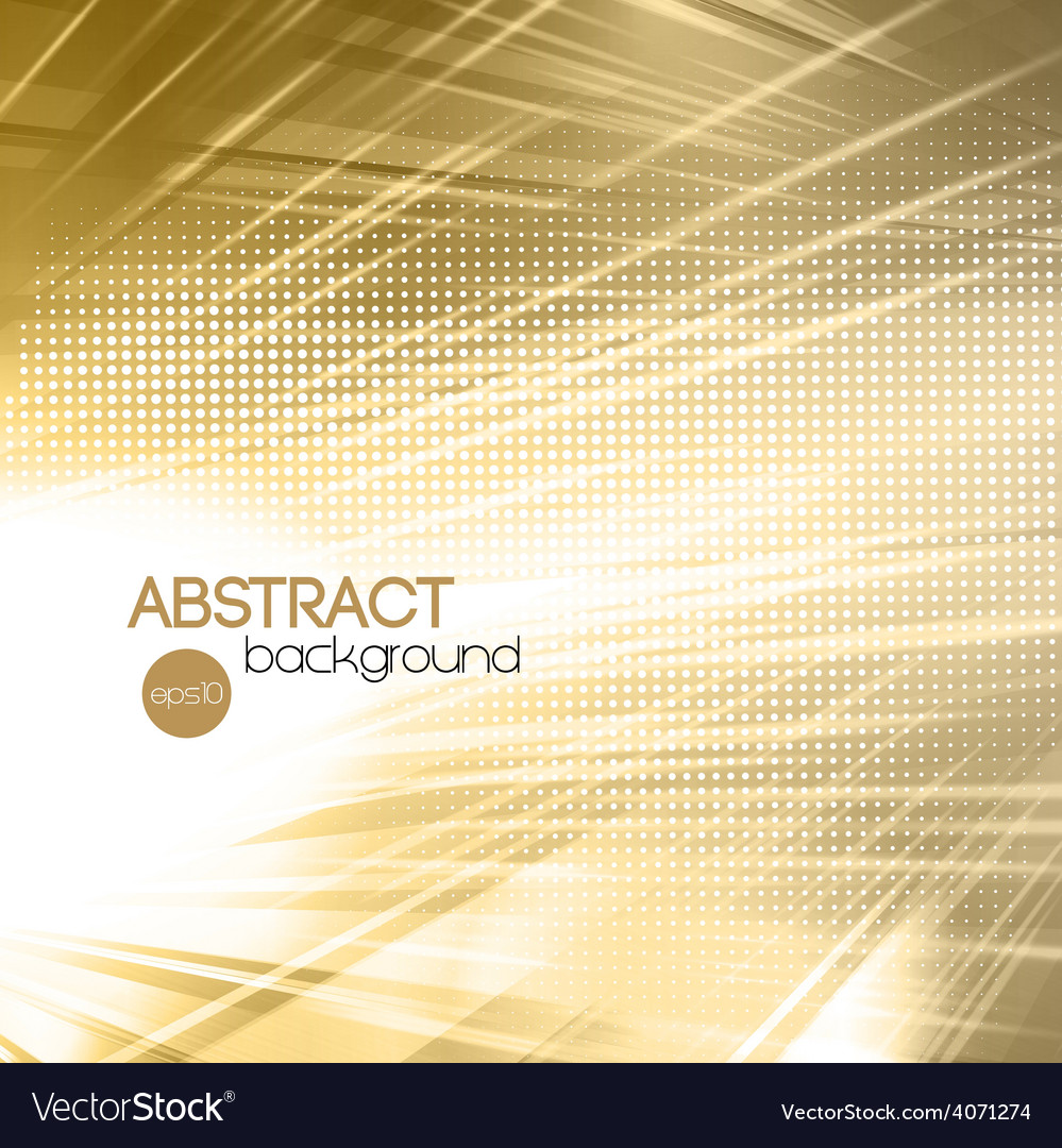 Abstract gold shiny template background vector | Price: 1 Credit (USD $1)