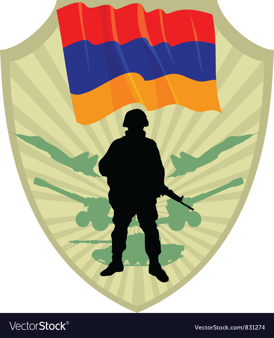 Army of armenia vector | Price: 1 Credit (USD $1)