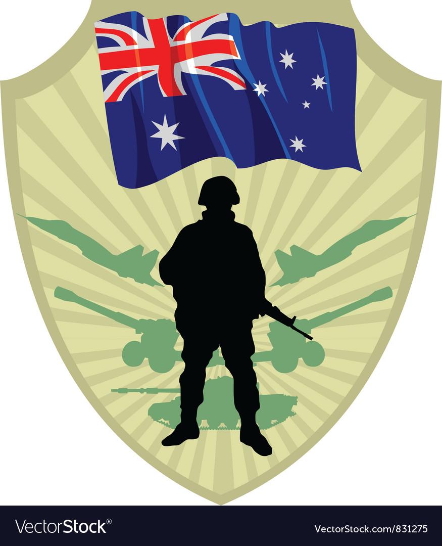 Army of australia vector   Price: 1 Credit (USD $1)