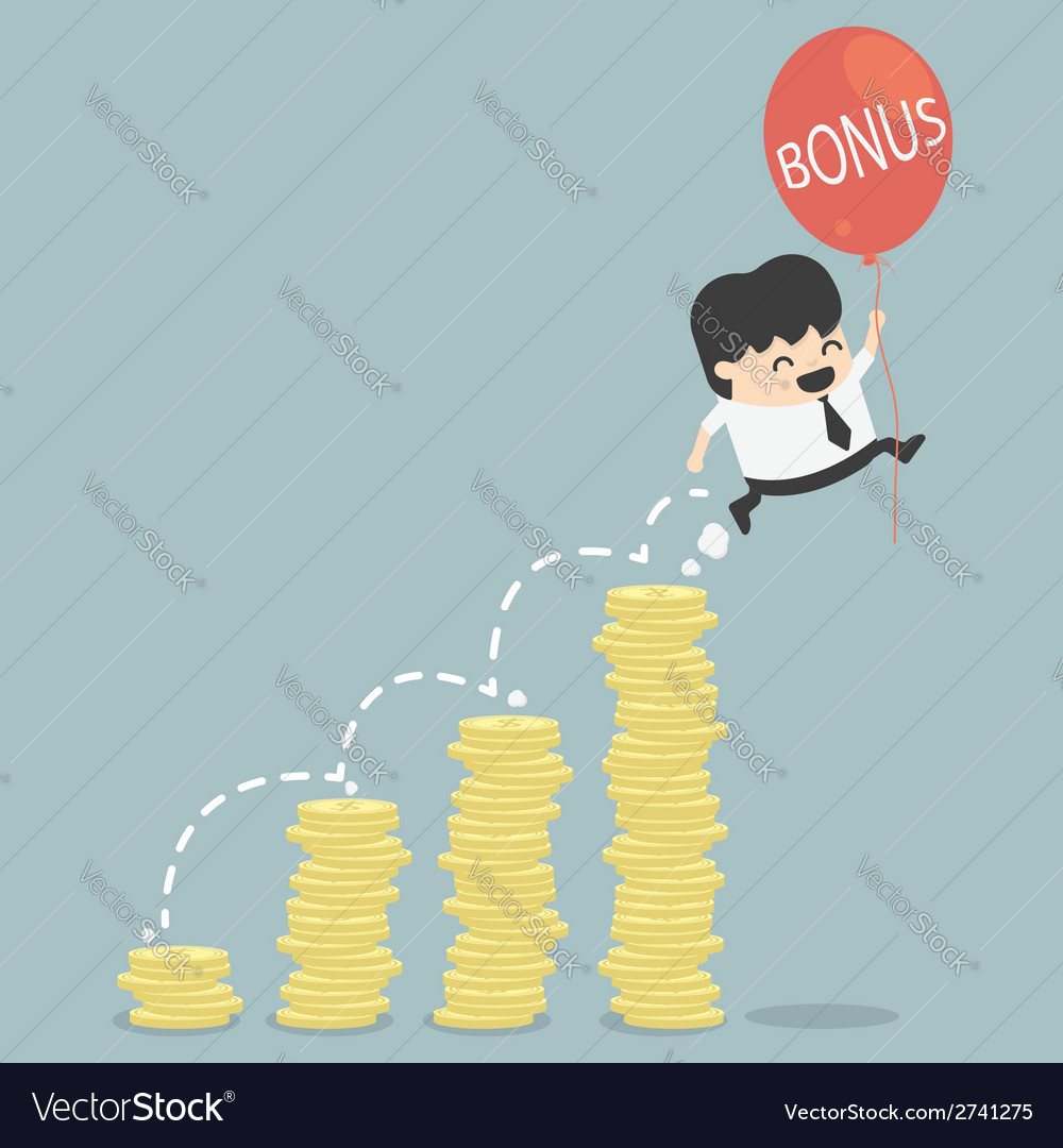 Bonus of businessman vector | Price: 1 Credit (USD $1)