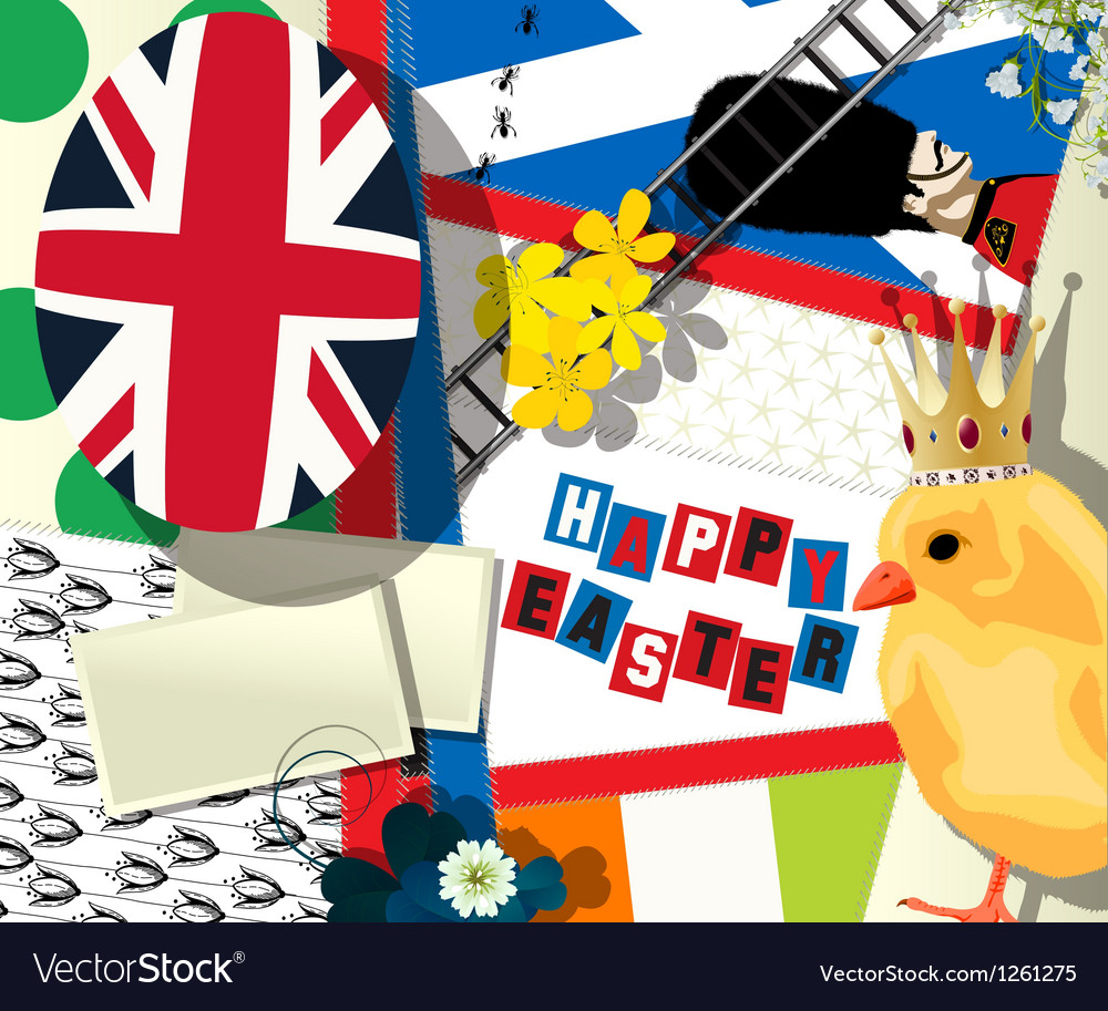 British easter vector | Price: 1 Credit (USD $1)