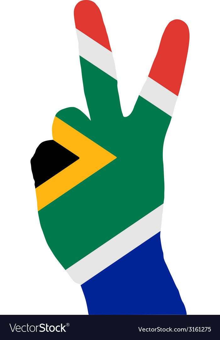 South african finger signal vector | Price: 1 Credit (USD $1)