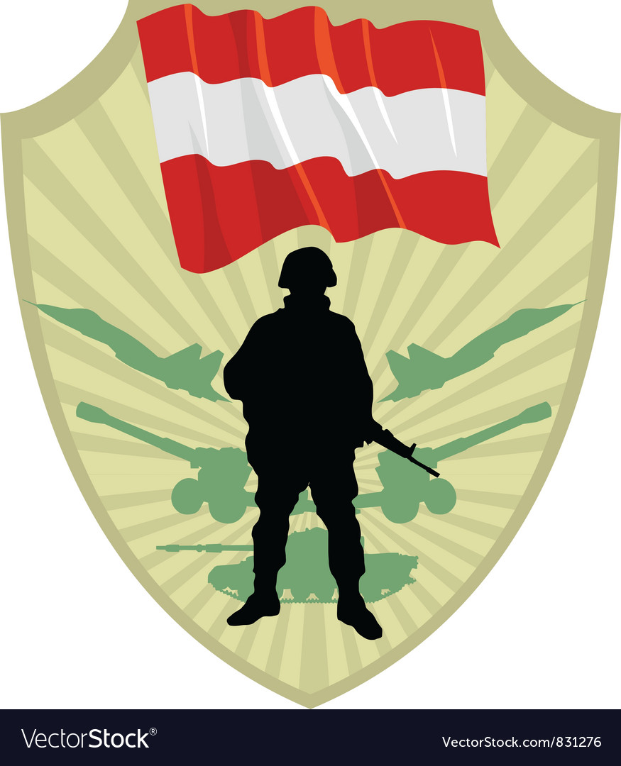 Army of austria vector | Price: 1 Credit (USD $1)