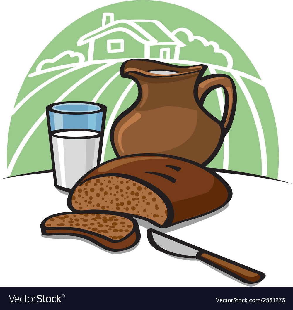 Country breakfast vector | Price: 1 Credit (USD $1)