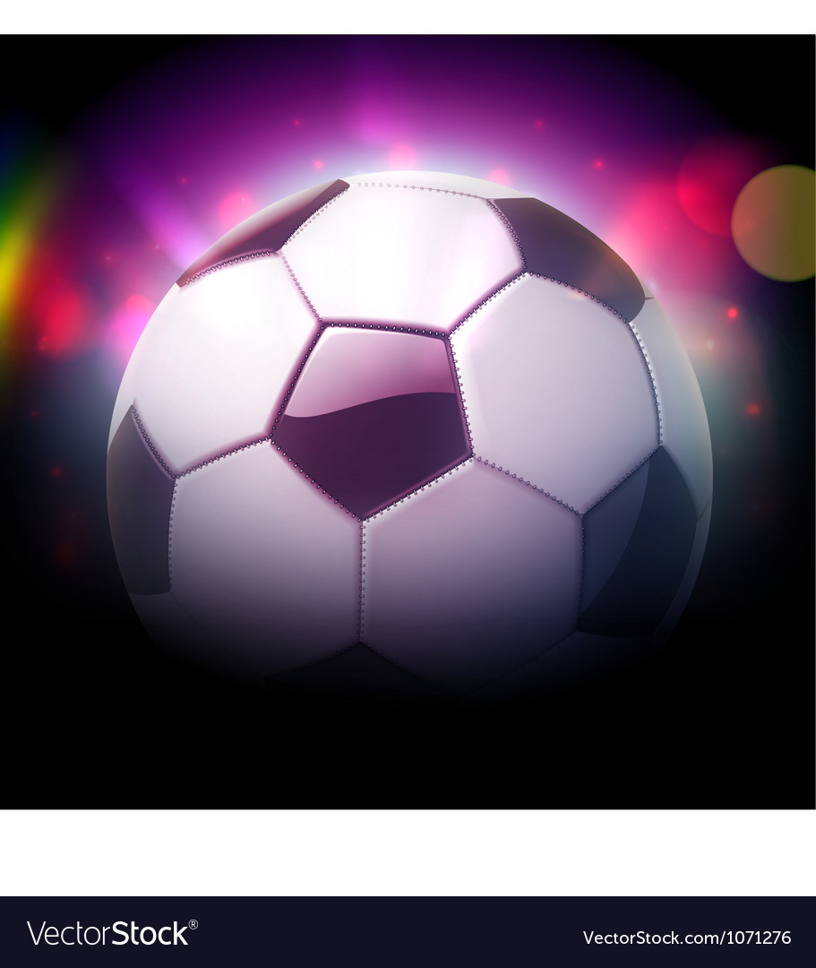 Football or soccer ball vector | Price: 1 Credit (USD $1)
