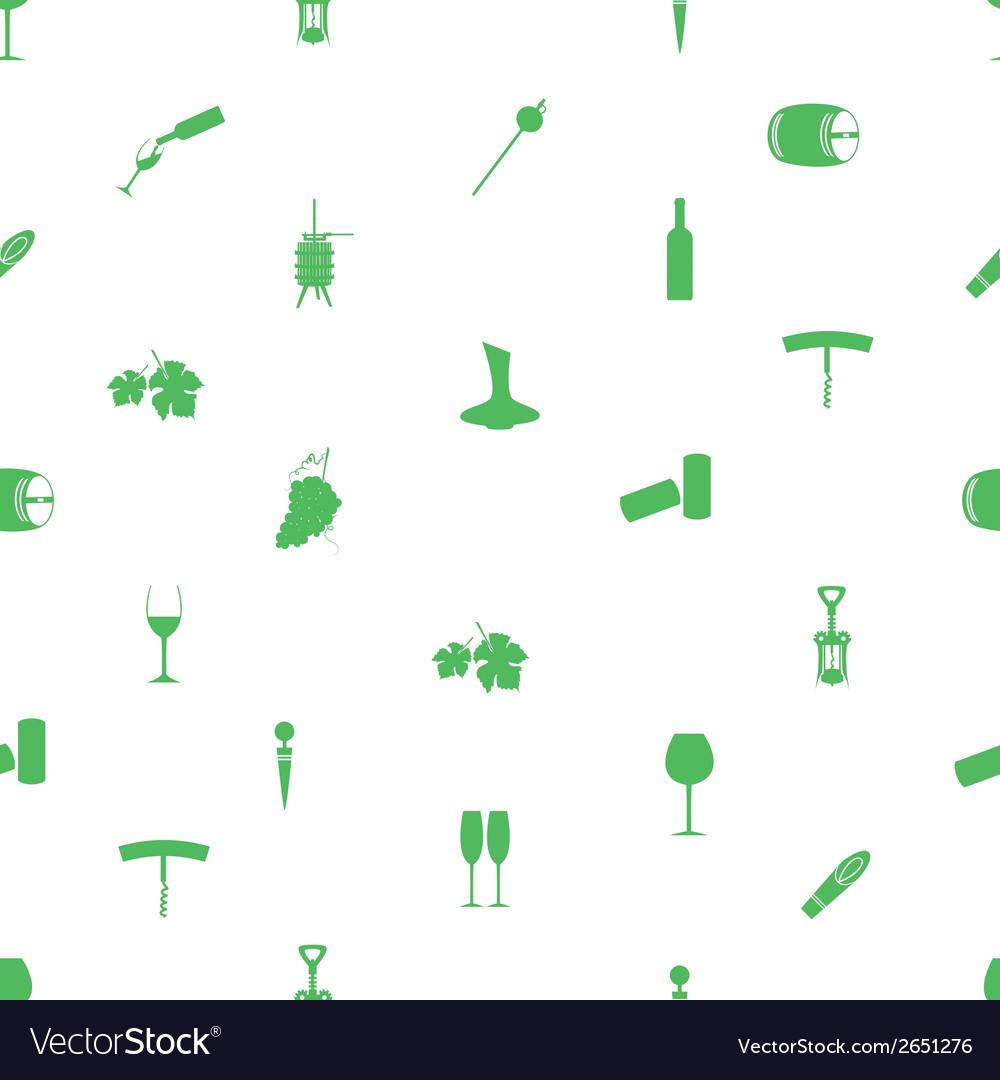 Wine icon pattern eps10 vector | Price: 1 Credit (USD $1)
